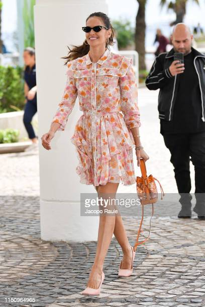 Izabel Goulart is seen during the 72nd annual Cannes Film Festival at on May 22, 2019 in Cannes, France.