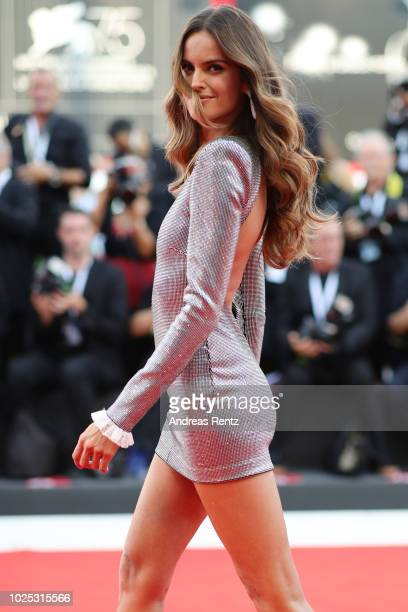Izabel Goulart walks the red carpet ahead of the 'Roma' screening during the 75th Venice Film Festival at Sala Grande on August 30 2018 in Venice...
