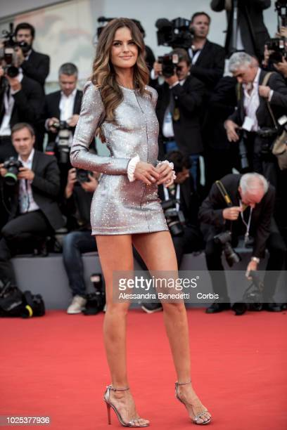 Izabel Goulart walks the red carpet ahead of the 'Roma' screening during the 75th Venice Film Festival at Sala Grande on August 30, 2018 in Venice,...