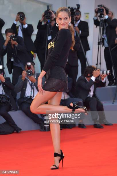 Izabel Goulart walks the red carpet ahead of the 'The Shape Of Water' screening during the 74th Venice Film Festival at Sala Grande on August 31 2017...