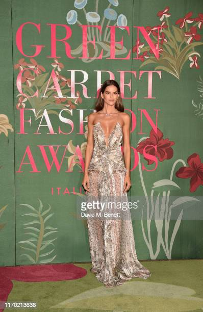 Izabel Goulart wearing ETRO attends The Green Carpet Fashion Awards, Italia 2019, hosted by CNMI & Eco-Age, at Teatro Alla Scala on September 22,...