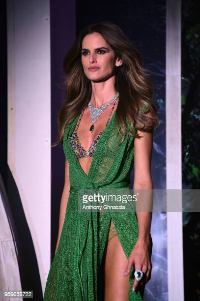 Izabel Goulart wearing Missoni walks the runway at the amfAR Gala Cannes 2018 at Hotel du CapEdenRoc on May 17 2018 in Cap d'Antibes France