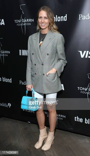 Izabela Depczyk attends Toni Garrn Foundation Supermodel Flea Market 2019 Launch Party at The Blond on September 11 2019 in New York City