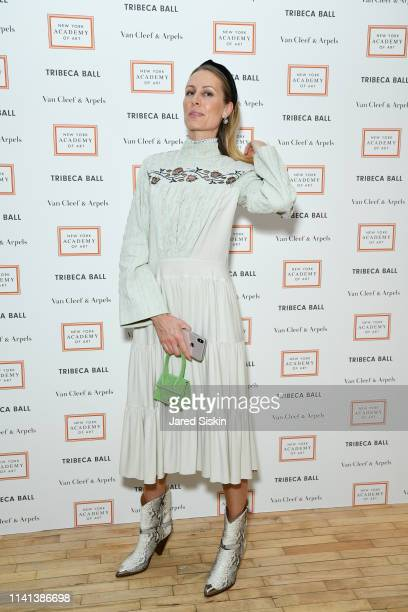 Izabela Depczyk attends Tribeca Ball Benefiting New York Academy Of Art at New York Academy of Art on April 08 2019 in New York City