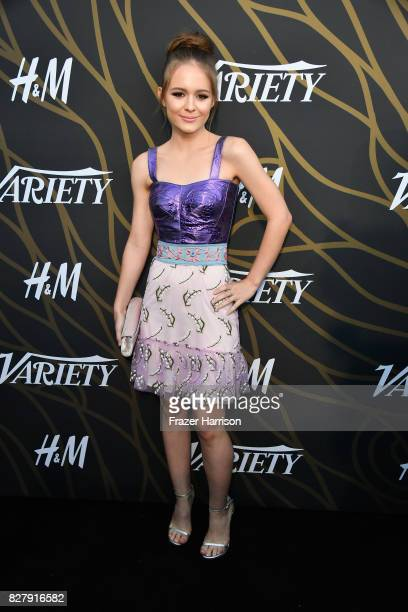 Izabela Vidovic attends Variety Power of Young Hollywood at TAO Hollywood on August 8 2017 in Los Angeles California