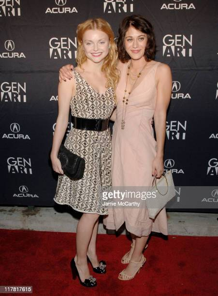 "Izabella Miko and Lizzy Caplan during 2007 Gen Art Film Festival Opening Night Featuring ""Crashing"" at Clearview Chelsea West Theater in New York..."