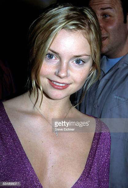 Izabella Miko at Hugo Boss Store Opening New York May 8 2001