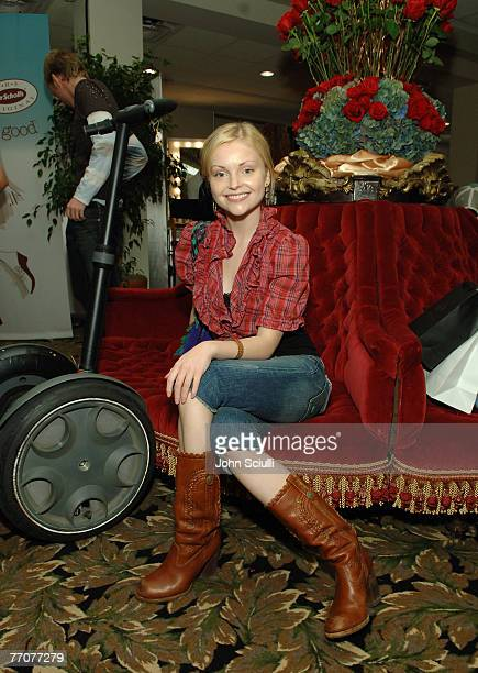 Izabella Miko at Segway Photo by John Sciulli/WireImage for Silver Spoon