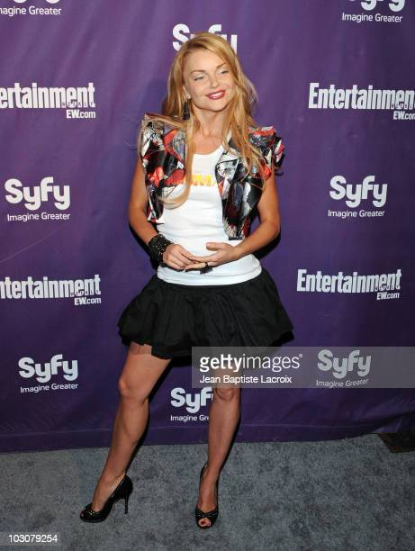 Izabella Miko attends the EW and SyFy party during Comic-Con 2010 at Hotel Solamar on July 24, 2010 in San Diego, California.
