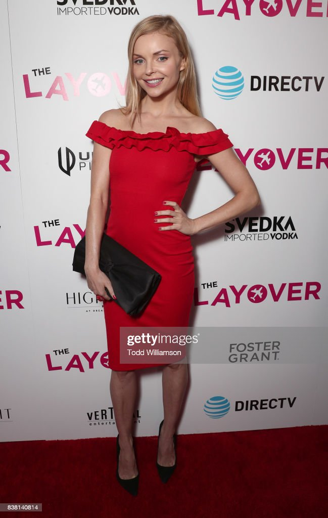 Izabella Miko attends the premiere of DIRECTV And Vertical Entertainment's 'The Layover' at ArcLight Hollywood on August 23, 2017 in Hollywood, California.