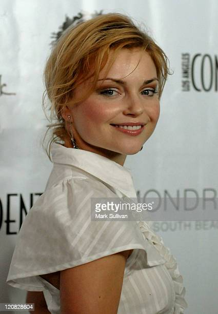 Izabella Miko during Los Angeles Confidential Magazine in Association with Morgans Hotel Group Celebrates the 2007 Oscars with Forest Whitaker, Rob...