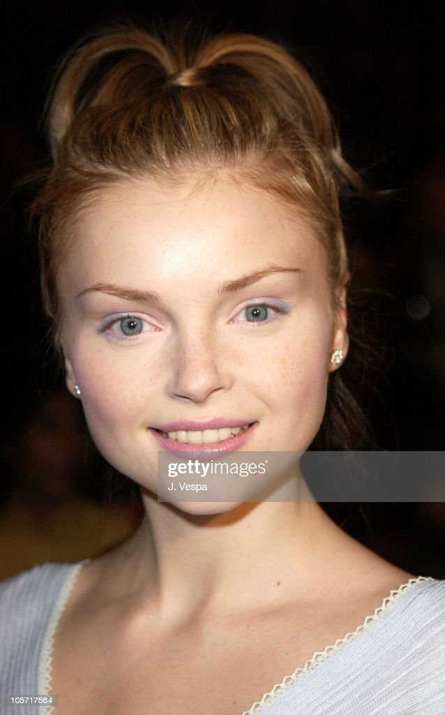Izabella Miko during Mercedes Benz Fashion Week Fall 2003 Collections - Luca Luca - Front Row at Bryant Park in New York City, New York, United States.
