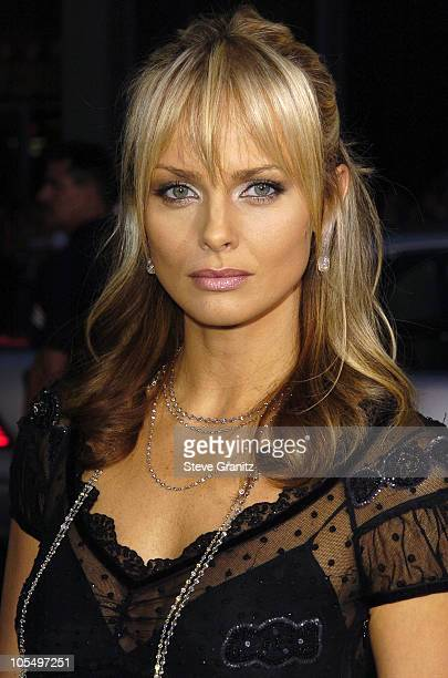 Izabella Scorupco during Exorcist The Beginning Los Angeles World Premiere Arrivals at Grauman's Chinese Theatre in Hollywood California United States