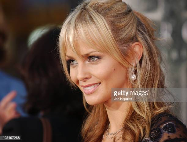 Izabella Scorupco during Exorcist The Beginning World Premiere Arrivals at Grauman's Chinese Theatre in Hollywood California United States