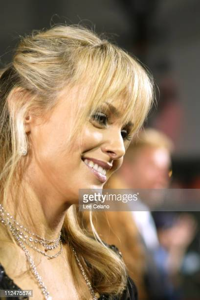 Izabella Scorupco during The Exorcist The Beginning Los Angeles World Premiere Red Carpet at Grauman's Chinese Theater in Hollywood California United...