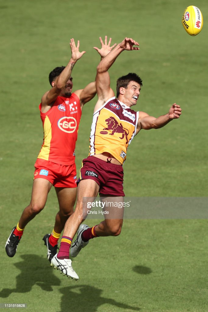 AUS: Gold Coast Suns v Brisbane Lions - AFL Pre-Season Match