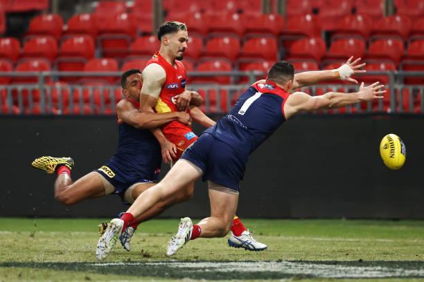 AUS: AFL Rd 6 - Melbourne v Gold Coast