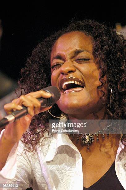 Izaline Calister performs live at Bimhuis in Amsterdam, Netherlands on December 07 2002