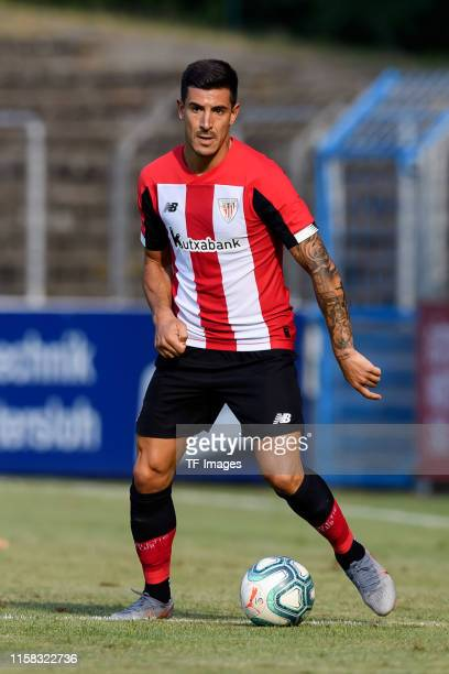 Izeta Yuri B. Of Athletic Bilbao controls the ball during the pre-season friendly match between SC Paderborn 07 and Athletic Bilbao at...