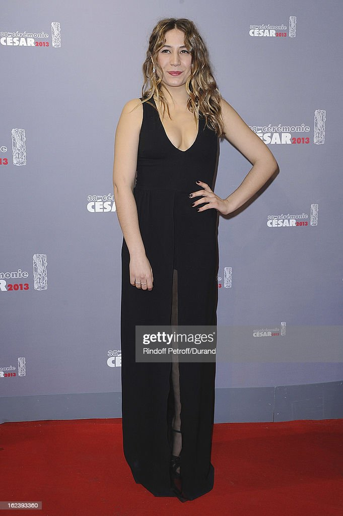 Izia Higelin arrives at Cesar Film Awards 2013 at Theatre du Chatelet on February 22, 2013 in Paris, France.