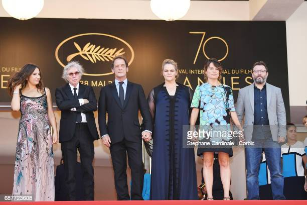 Izia Higelin director Jacques Doillon Vincent Lindon Severine Caneele Kristina Larsen and guest attend the 'Rodin' screening during the 70th annual...