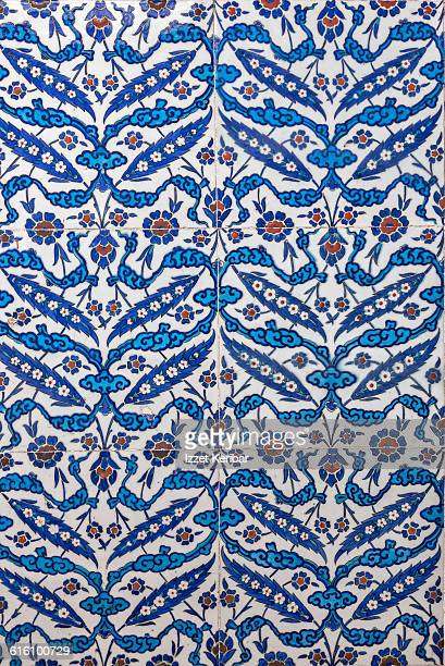 Iznik Tile  inside Rustempasha Mosque