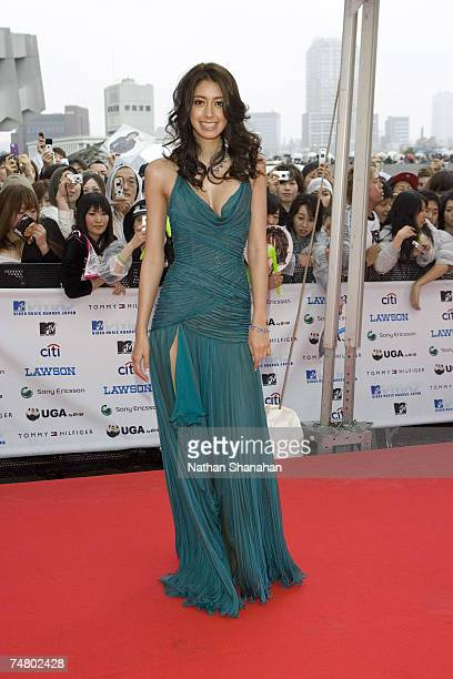 Izumi Mori at the MTV Video Music Awards Japan 2006 Red Carpet at Yoyogi National Stadium in Tokyo