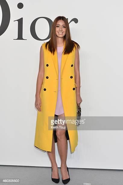 Izumi Mori attends 'Esprit Dior' Tokyo 2015 Fashion Show at Ryogoku Kokugikan on December 11 2014 in Tokyo Japan