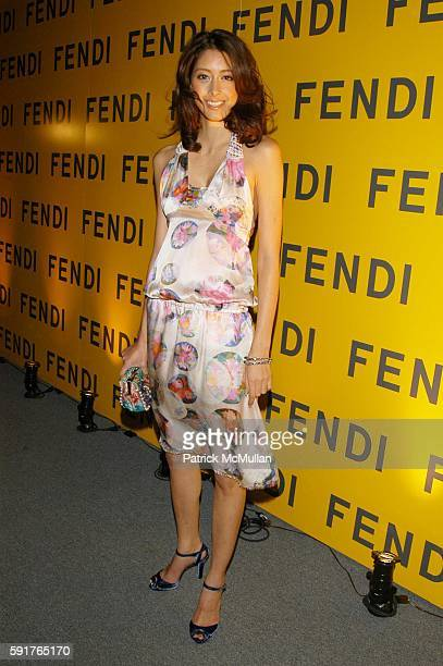 Izumi Mori attends Fendi Flagship Store Opening at Fendi on November 3 2005 in New York City