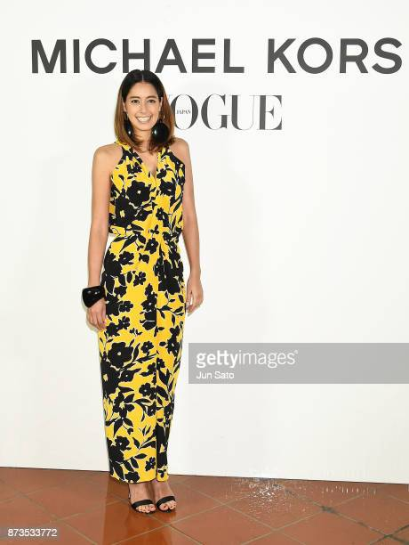 Izumi Mori attends the Michael Kors Watch Hunger Stop Charity Gala Dinner at Riva Degli Etruschi on November 13 2017 in Tokyo Japan