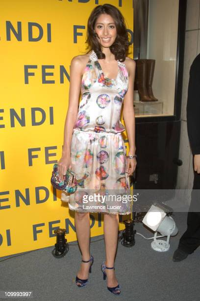 Izumi Mori during Fendi Flagship Store Opening and Announcement of The Fendi Rome Prize Fellowship at The American Academy in Rome at Fendi Flagship...