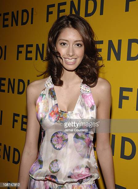 Izumi Mori during Fendi New York City Flagship Store Opening Inside at Fendi Flagship Store in New York City New York United States