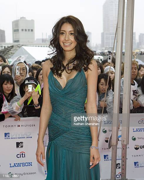 Izumi Mori during MTV Video Music Awards Japan 2006 Red Carpet at Yoyogi National Stadium in Tokyo Japan