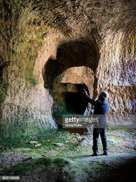 izumiyama quarry - 佐賀県 ストックフォトと画像