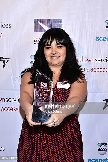 Izzy Arias attends the The TMA 2016 Heller Awards on November 10 2016 in Beverly Hills California