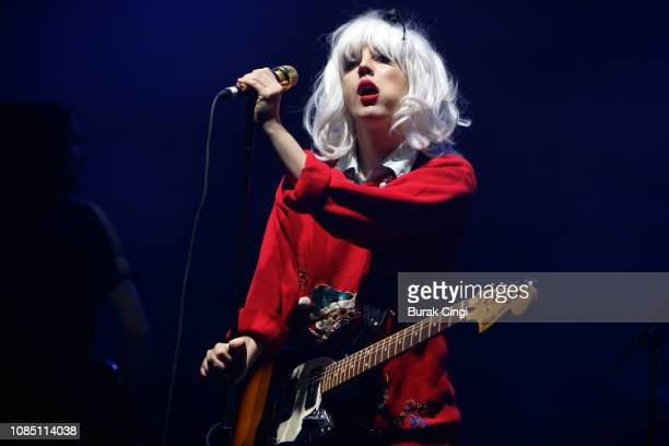 Izzy B. Phillips of Black Honey performs at O2 Academy Brixton on December 20, 2018 in London, England.