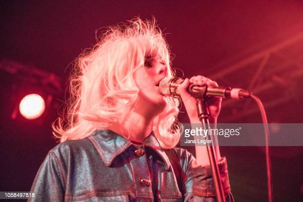 Izzy Baxter of Black Honey performs live on stage during a concert at the Cassiopeia on November 06 2018 in Berlin Germany