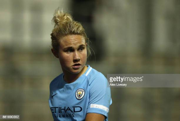 Izzy Christiansen of Manchester City Women during the UEFA Women's Champions League match between Manchester City Women and LSK Kvinner at The...