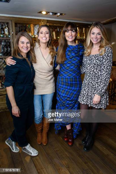 Izzy Judd Stacey Solomon Michelle Kennedy and Georgia Jones attend a festive lunch for mothers to celebrate the untold stories of motherhood on...