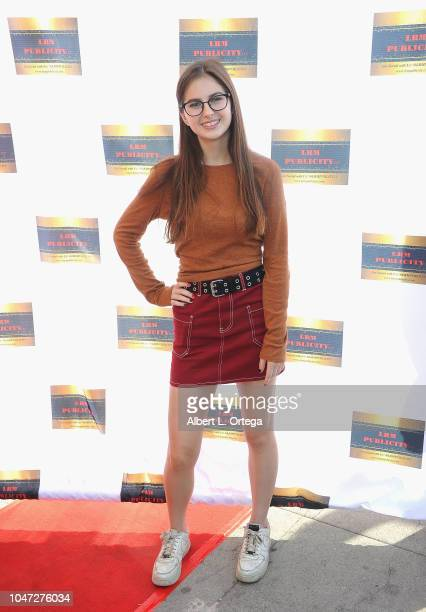 Izzy LaBelle arrives for Jax Malcolm's 3rd Annual #ActionJax Movie Morning Fundraiser held at the Vista Theatre on October 7 2018 in Los Angeles...
