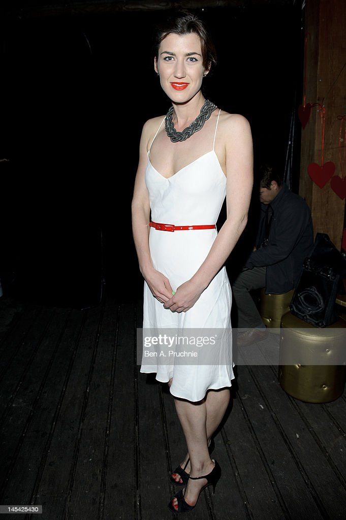 Izzy Lawrence attends Tunnel of Love in aid of The British Heart Foundation at Proud Camden on May 29, 2012 in London, England.