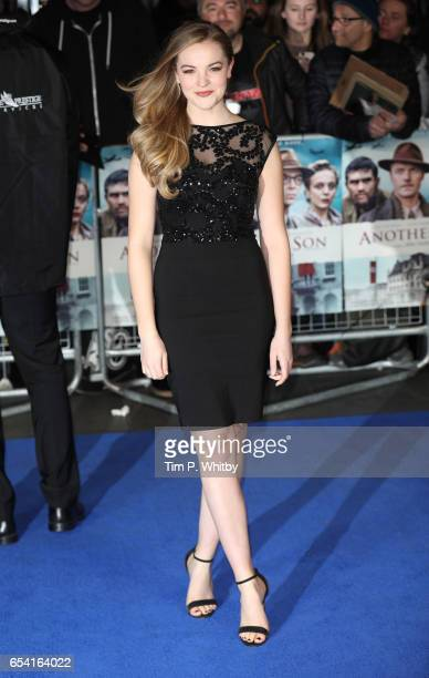 Izzy MeikleSmall attends the World Premiere of 'Another Mother's Son' on March 16 2017 at Odeon Leicester Sqaure in London England