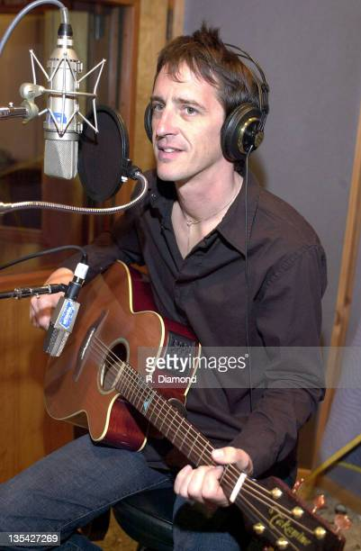 Izzy Stradlin during Izzy Stradlin Recording Session File Photos at Rumbo Studios in Los Angeles California United States