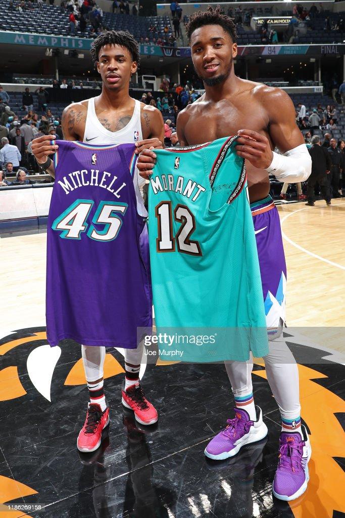 Utah Jazz v Memphis Grizzlies : News Photo