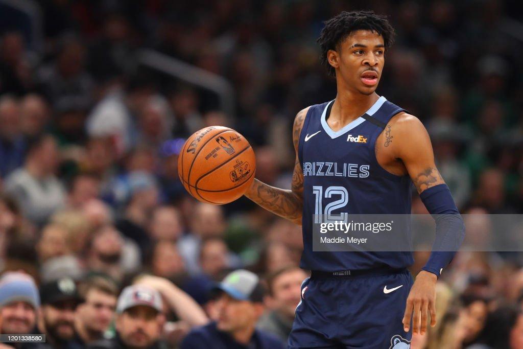 Memphis Grizzlies v Boston Celtics : News Photo