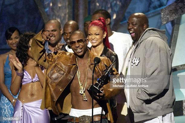 Ja Rule Accepts his Best Male HipHop Artist Award