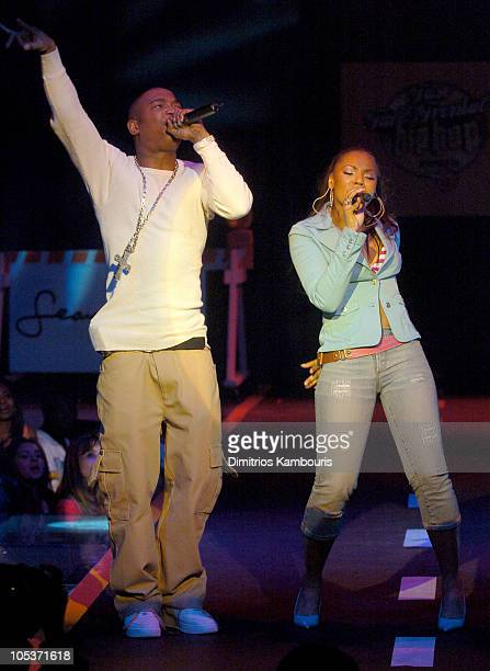 Ja Rule and Ashanti during Fuse and Hot 97 Present Full Frontal Hip Hop With Host Lil Kim at Webster Hall in New York City New York United States