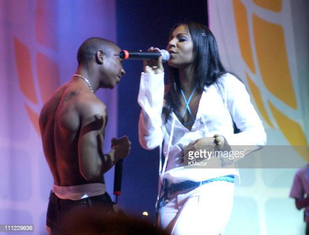 Ja Rule and Ashanti during LIFEBeat's Urban AID 2 Benefit Concert at Beacon Theater in New York City New York United States