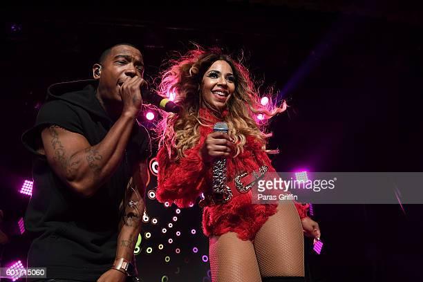 Ja Rule and Ashanti perform in concert at Buckhead Theatre on September 9 2016 in Atlanta Georgia