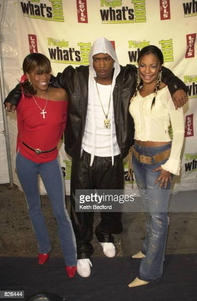 Ja Rule and fellow Def Jam recording artists Vita and Ashanti attend the Teen People Magazine's What's Next in New Talent Party November 14 2001 in...